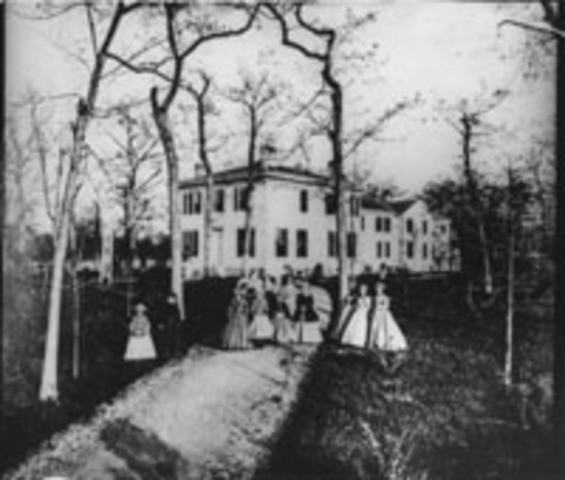 Dickinson's Seminary for Young Ladies opens