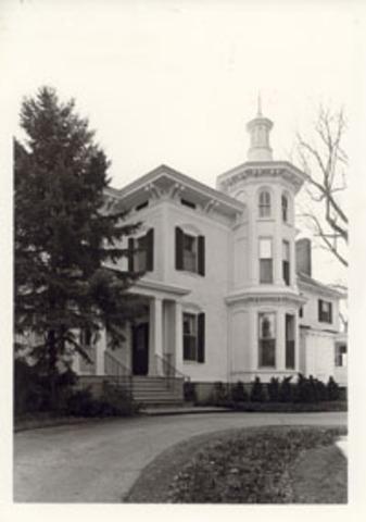 Thompson house built