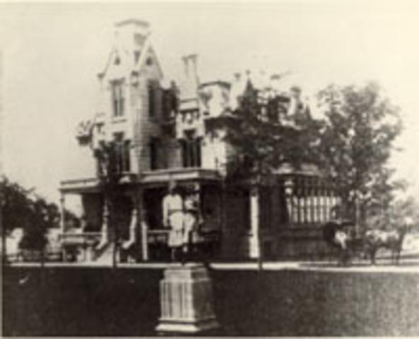 John V. Farwell estate built