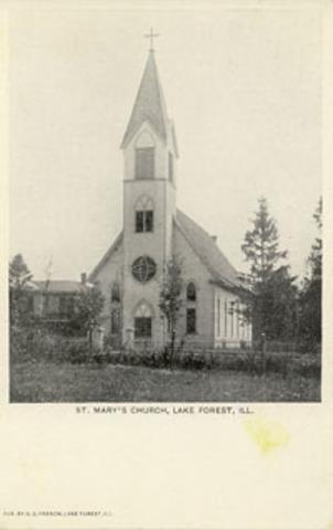 Church of St. Mary built