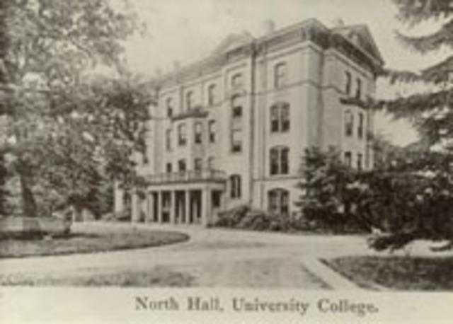 North Hall built
