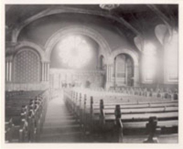 New First Presbyterian Church building dedicated