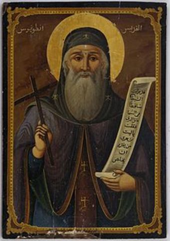 San Antonio, funda varios monasterios