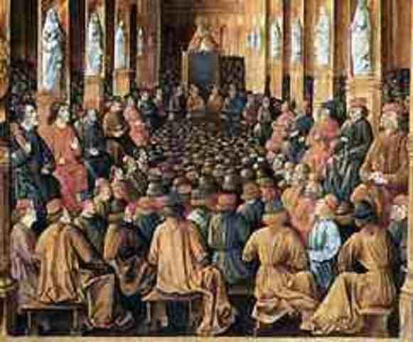 El II Concilio de Toledo se prescribe que los niños destinados al clero