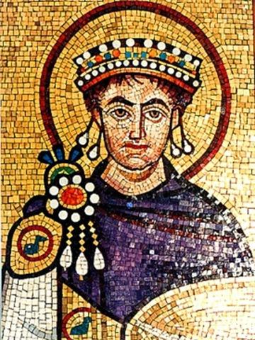 El emperador Justiniano continua con el mismo ideal de Teodorico