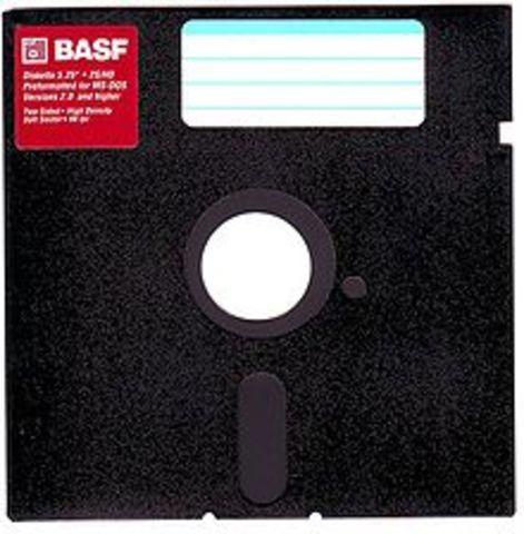 Creacion del Floppy Disk