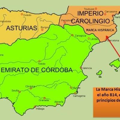 Península Ibérica entre los siglos VIII y XI timeline