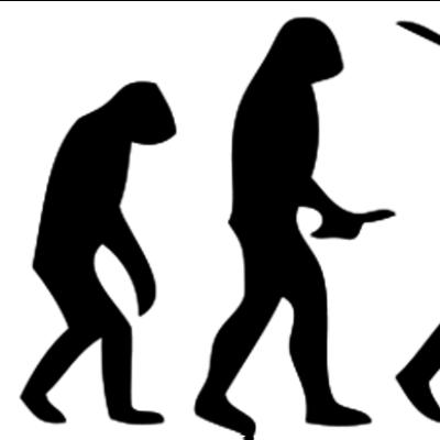 Evolució dels homes timeline
