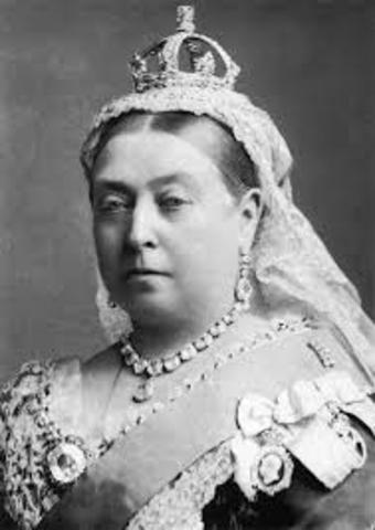 La reina Victoria se hace emperatriz de la India
