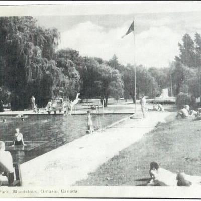 History of Willow Lake Campground and RV Park Woodstock Ontario Canada www.willowlakepark.on.ca timeline