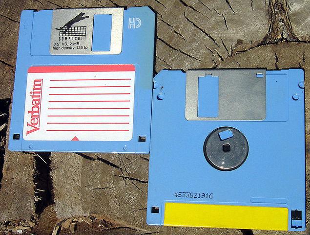 Cambio de Floppy de 8 pulgadas a 3½ pulgadas