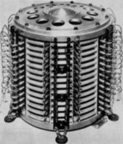 Invencion del Tambor Magnetico
