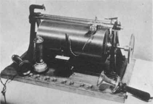 Primera cinta Magnetica