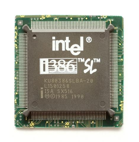 El microprocesador Intel 80386