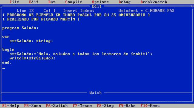 Primer lenguaje de programación