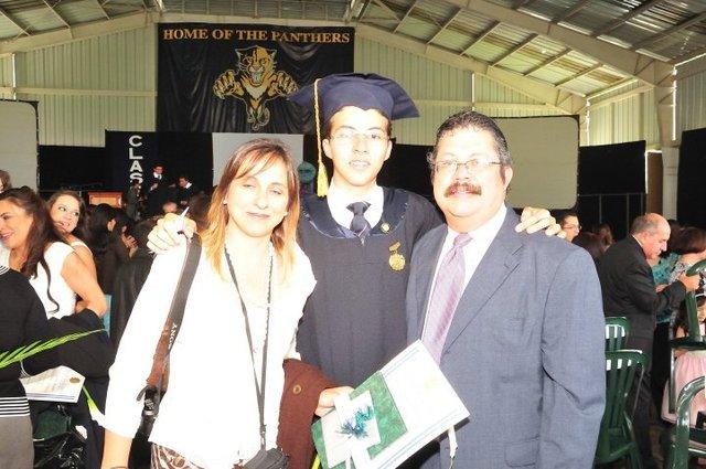 Me gradué del Colegio