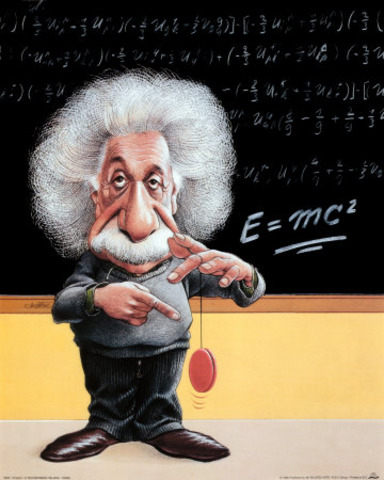 Publishes THEORY OF RELATIVITY
