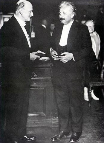 Recieves Nobel Prize