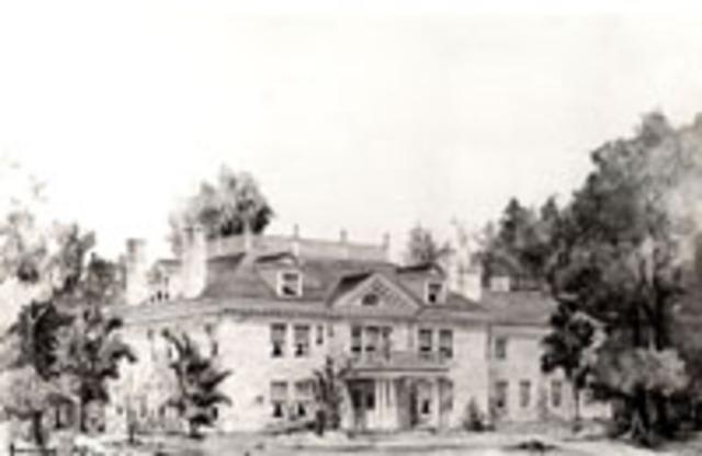 Pembroke Hall built