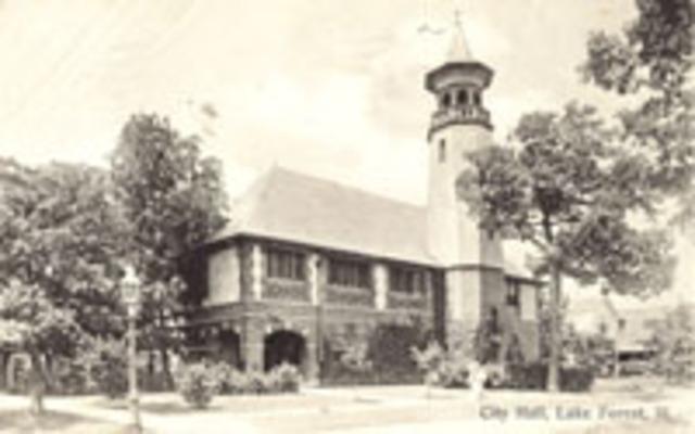 City Hall built