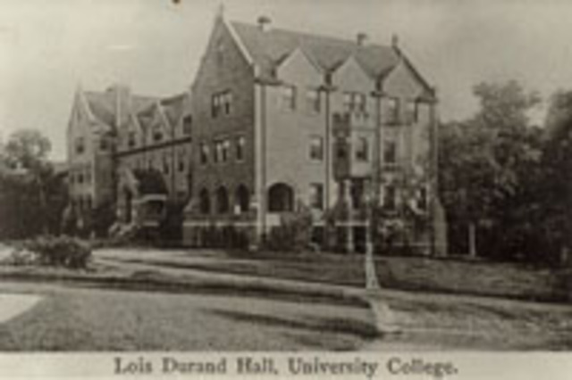 Lois Durand Hall built at Lake Forest College