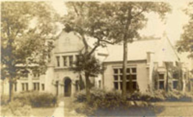 In 1899...