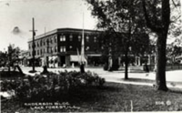 Anderson Building constructed