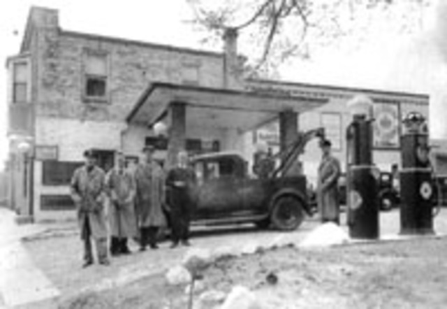 Karl Knauz opens a service station