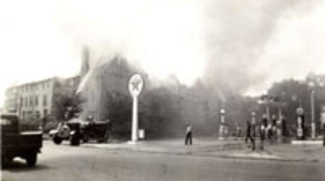 Fire at the Deerpath Inn