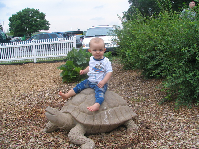 His first big vacation - Hershey, PA