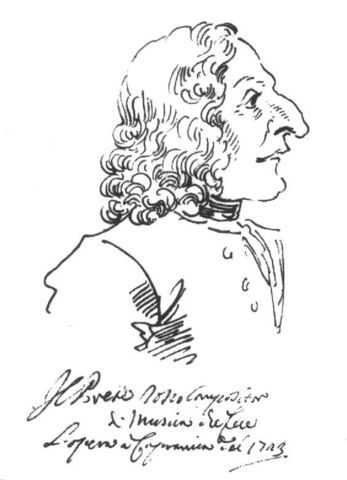Antonio Vivaldi entered in a seminary