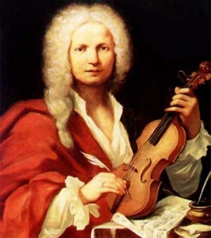 Vivaldi was appointed subdeacon