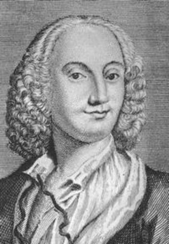 Vivaldi was appointed deacon