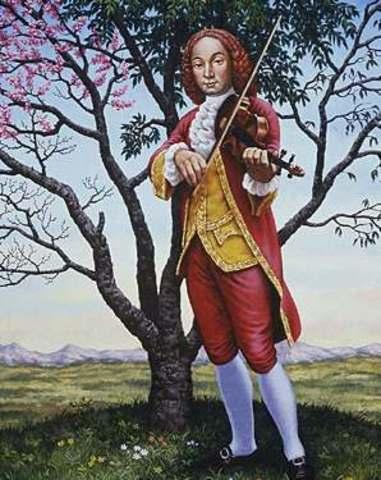Vivaldi was appointed master of violin