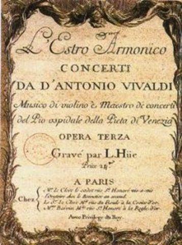 The first Vivaldi´s concert