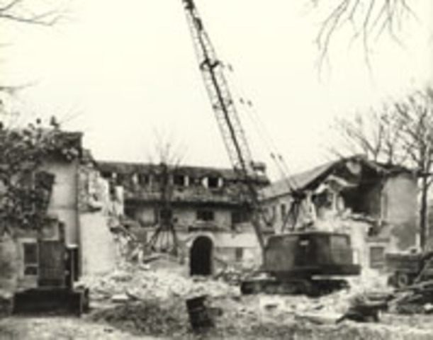 McCormick homes torn down