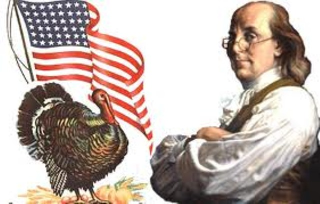 Patriotism - Benjamin Franklin's Turkey disappointment