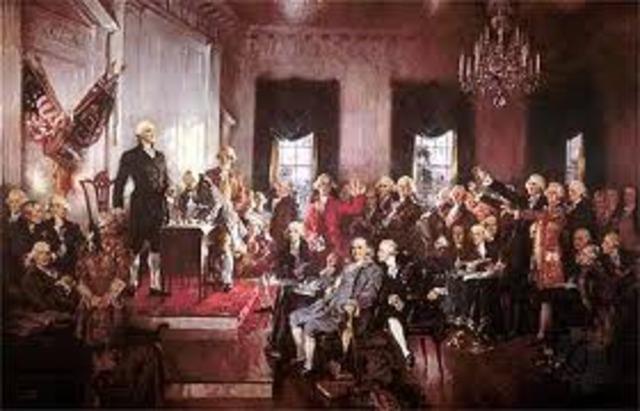Constitution - Constitutional Convention in Philadelphia