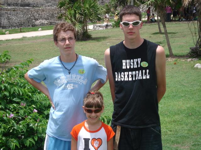 Hace cuatro años que fuimos a Cozumel.