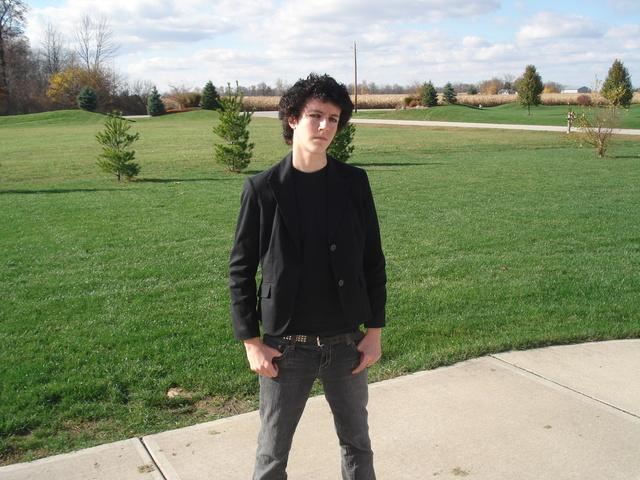 Hace dos años que me vestí como un punkí.