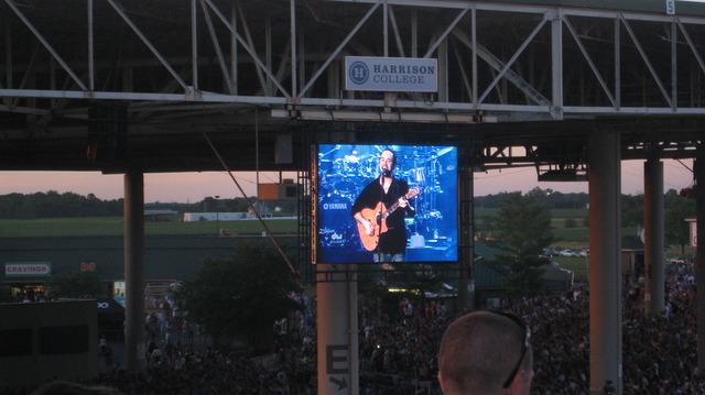 Hace seis meses que fue a concierto de Dave Matthews Band.