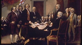 Forging the Declaration of Independance timeline