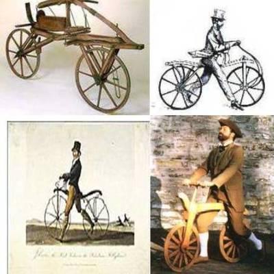 6B : Evolution du vélo timeline