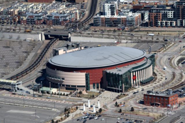 Denver's Pepsi Center Selected
