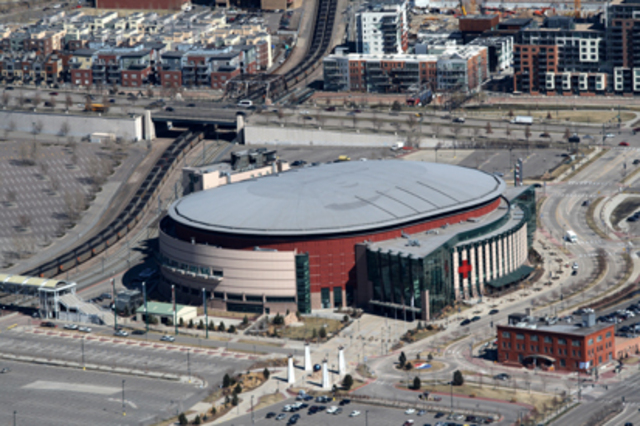 Denver's Pepsi Center Selected
