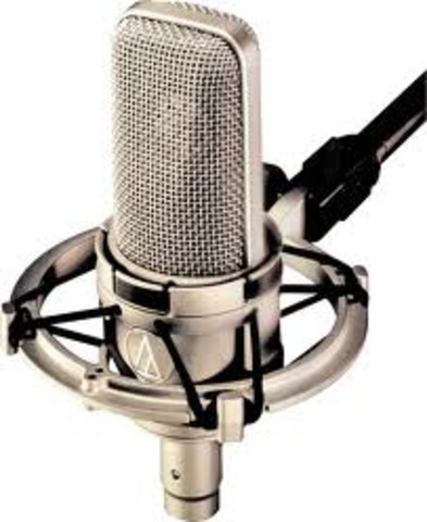 nacimiento del microfóno