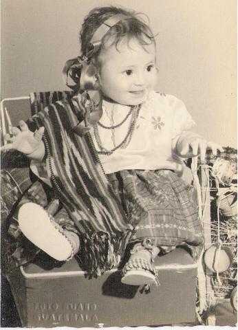 Nacimiento de Laura V.