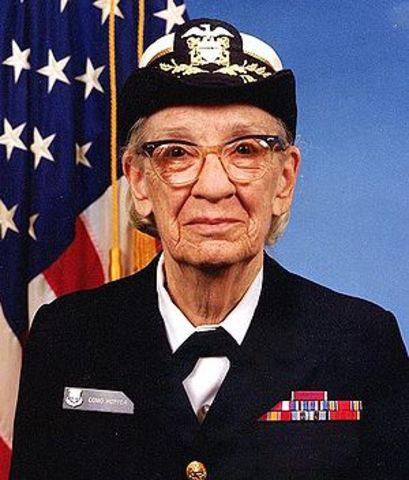 Admiral Grace Murrary Hopper