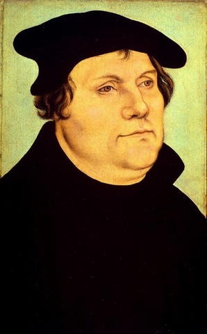 Martin Luther Nails 95 Thesis