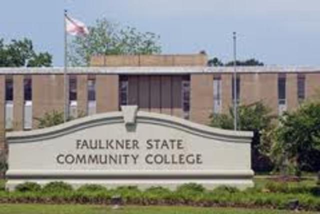 Started school at Faulkner State